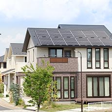 太陽光発電で創エネイメージ
