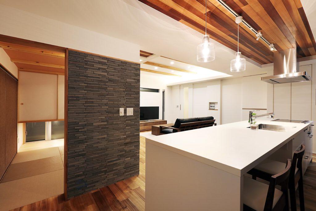 新築施工 キッチン