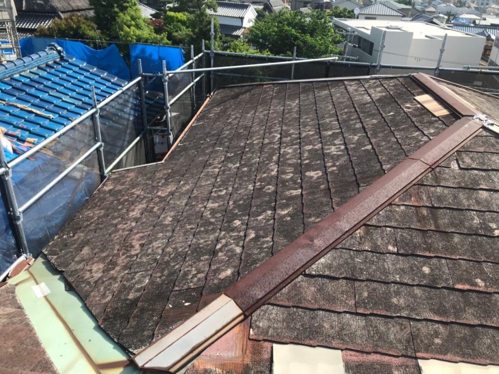 屋根葺き替え工事 N様邸