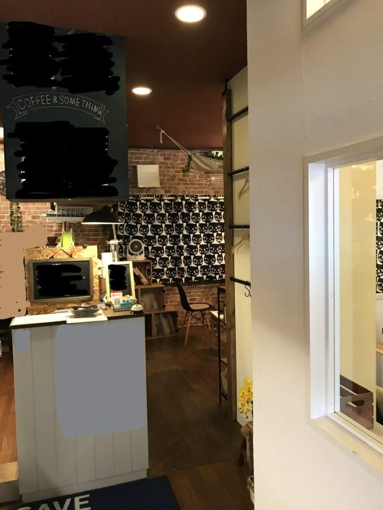 カフェ内装工事  S様店舗